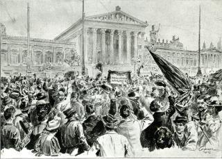 Wahlrechtsdemonstration 1905