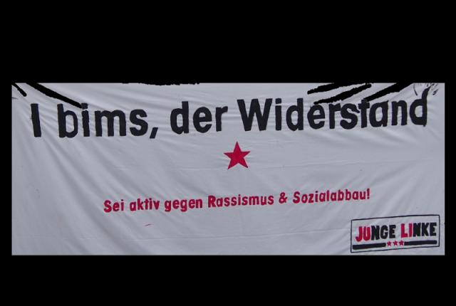 I bims, der Widerstand (Junge Linke)