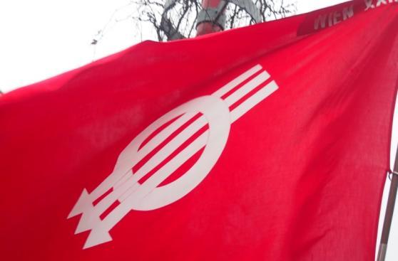 SPÖ-Flagge
