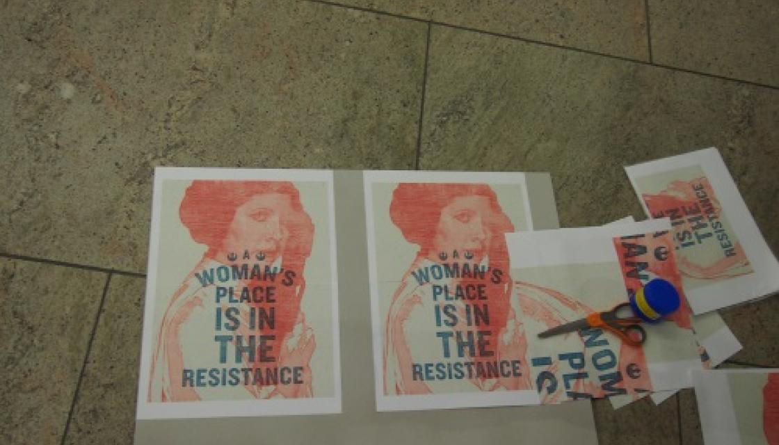 A Womans Place is in resistance