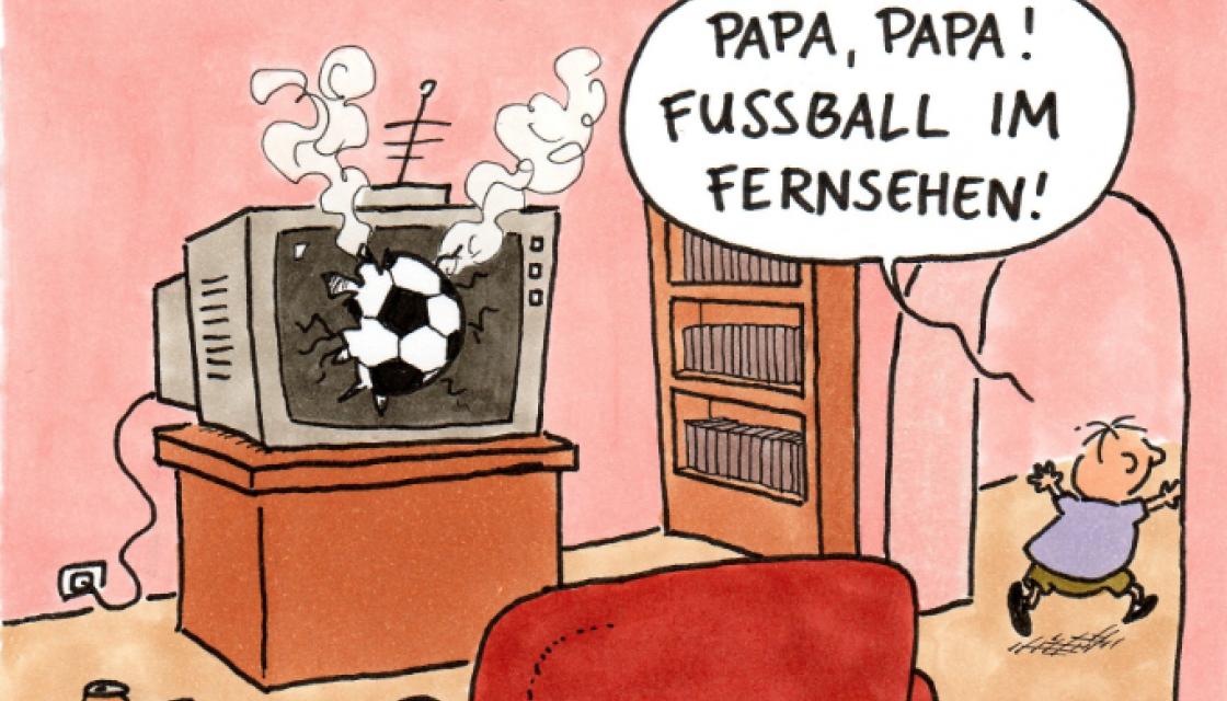 Fußball im Fernsehen